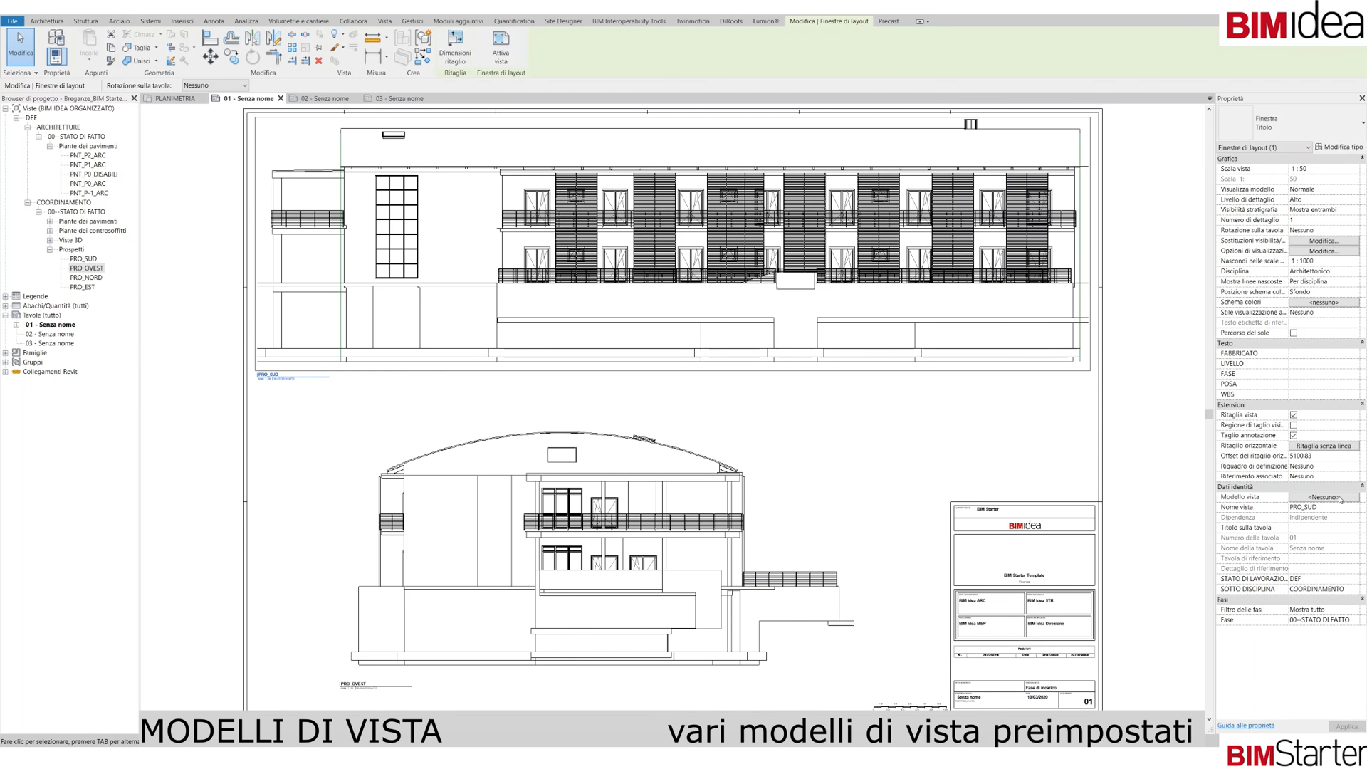 Il Template | Tavole, cartigli e parametri di progetto